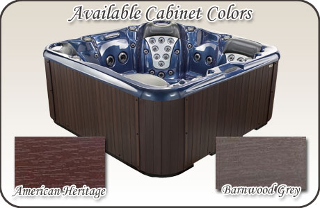 Stonewood Spas Cabinet Colors