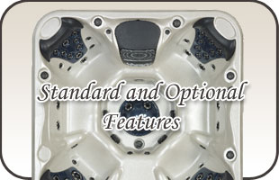 Stonewood Spas Standard and Optional Features