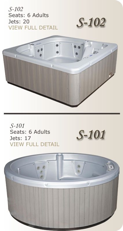 Stonewood Spas Serene Series Hot Tubs
