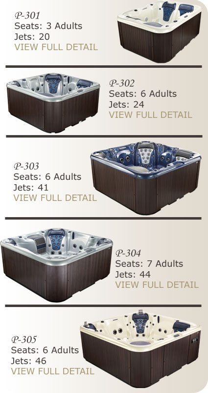 Stonewood Spas Signature Series Models
